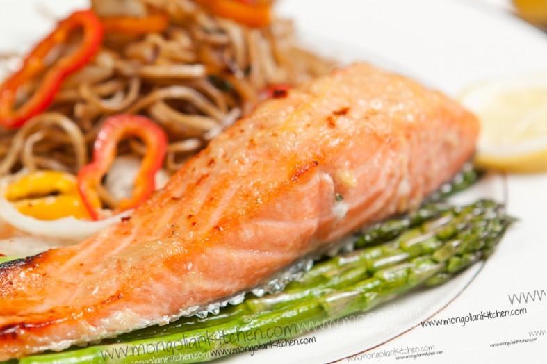 recipe: ginger lime salmon marinade [1]