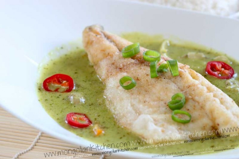 thai green fish curry recipe