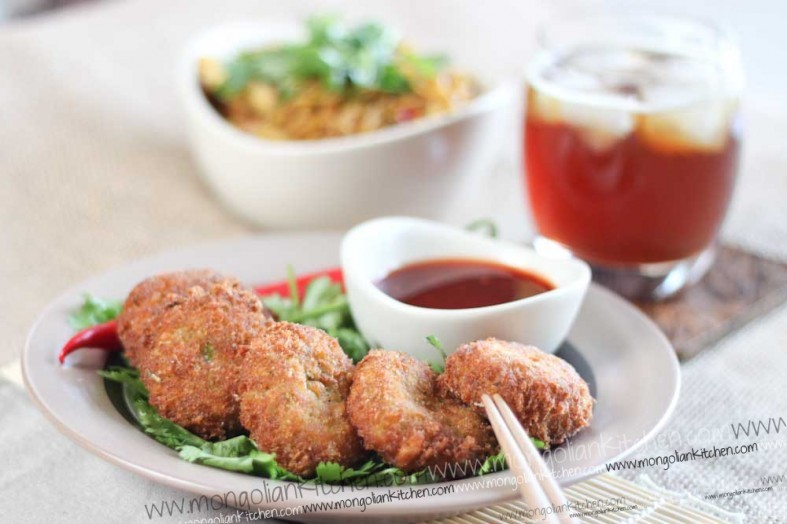 Sweet chilli fish cake recipe