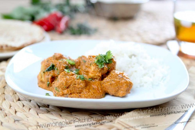 making chicken tikka masala