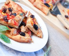 Tuna and Vegetable Focaccia