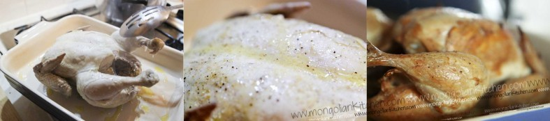 roast the chicken needed for circassian chicken recipe