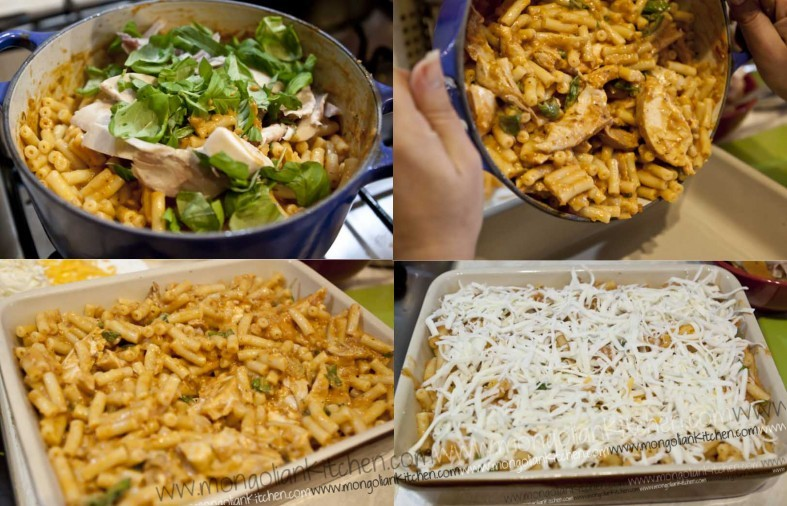 bake the chicken pasta bake recipe