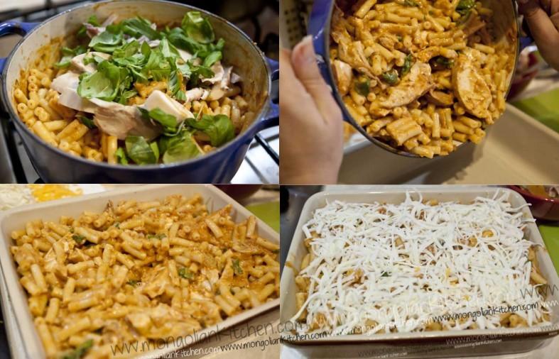 bake the chicken pasta bake recipe
