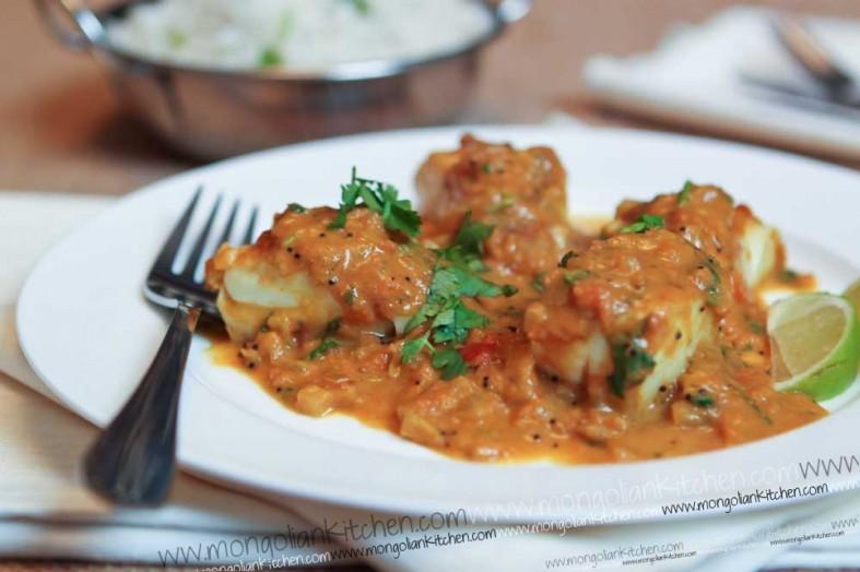 Fish Curry - Cod Curry Recipe