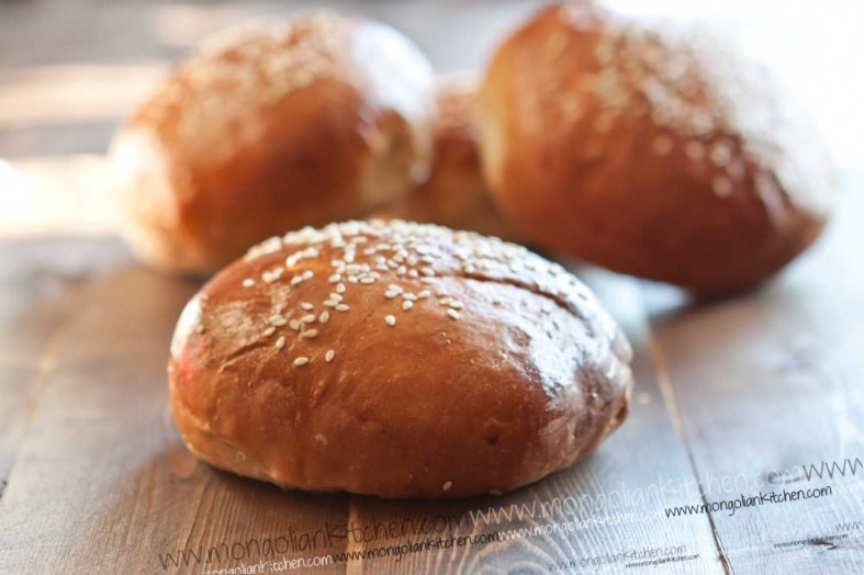 Brioche Buns Recipe - Burger buns recipe