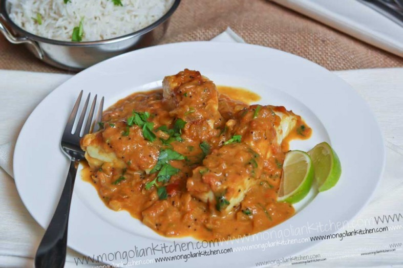 Cod Fish Curry Recipe