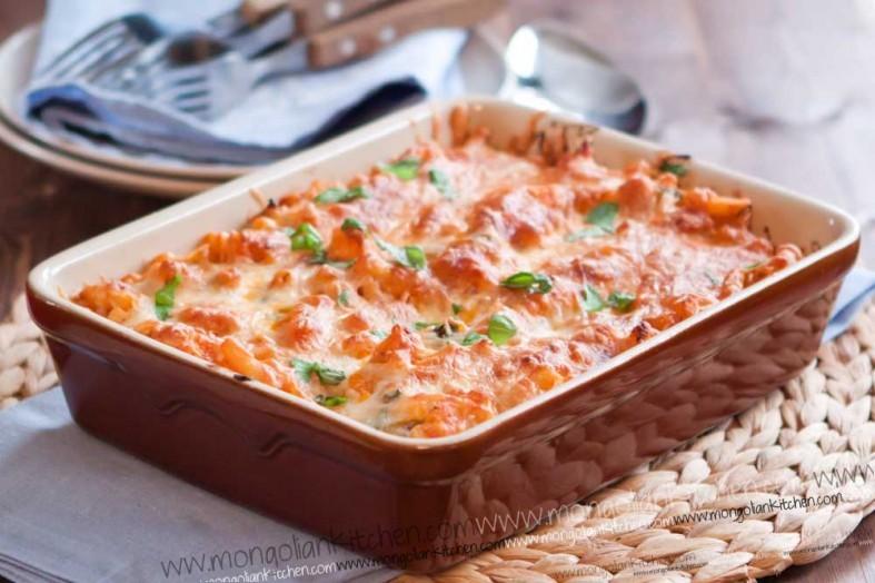 Chicken Pasta Bake Recipe macaroni bake