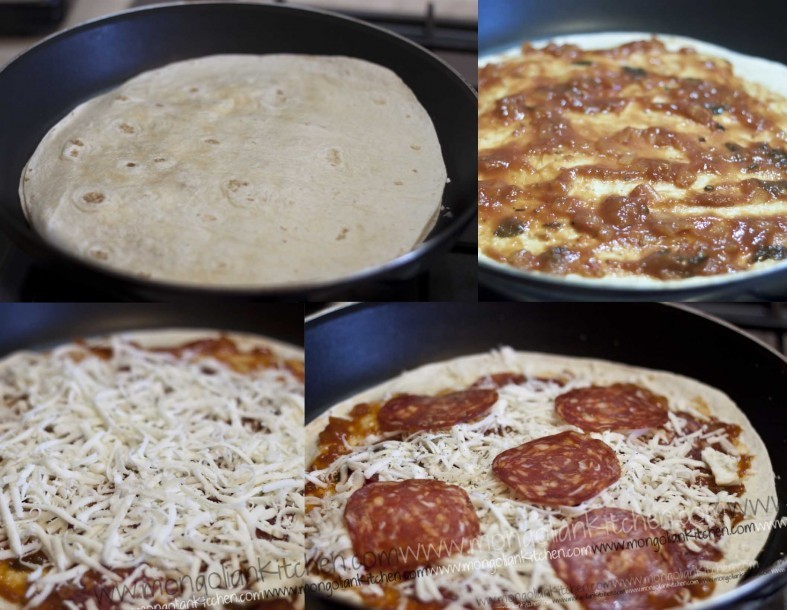pizadilla recipe, pizza quesadilla recipe