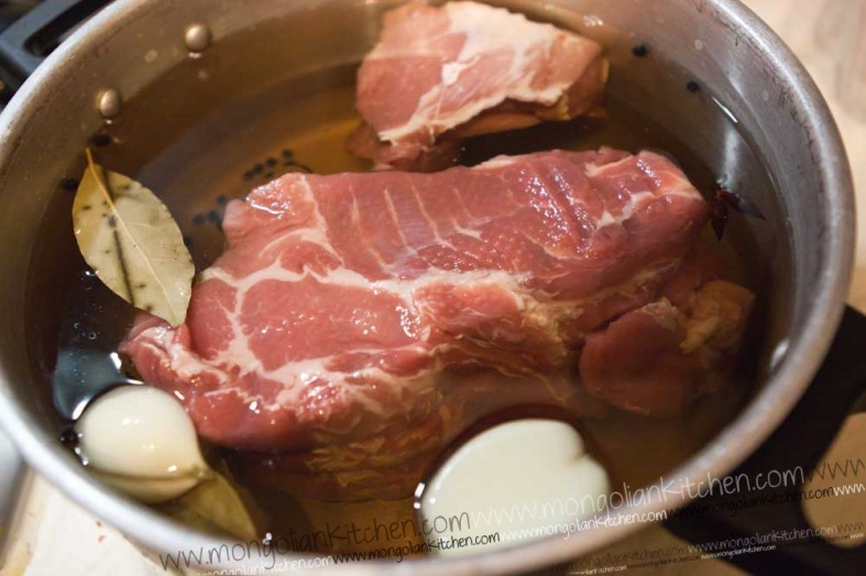 Brine the Pulled Pork recipe