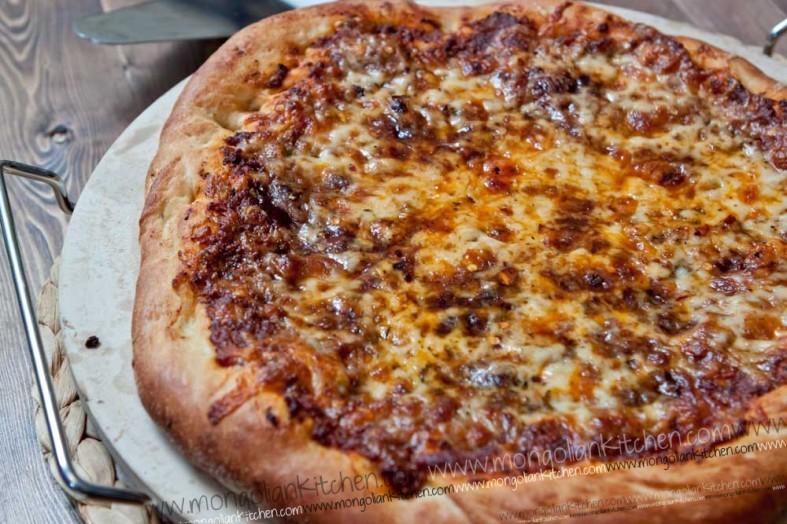 Bolognese Pizza Recipe pappa johns dough recipe