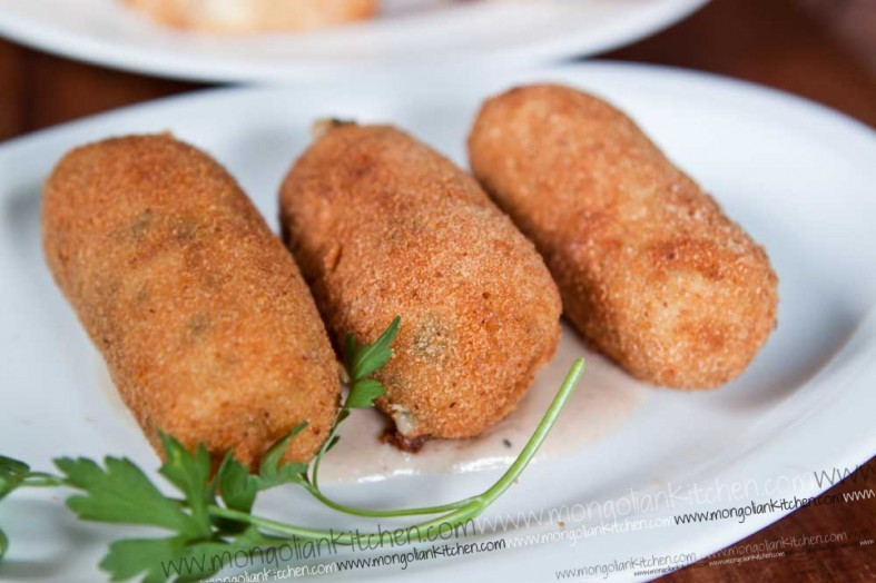 ham croquettas recipe ham croquettes with walnut sauce