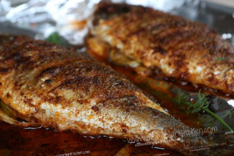 grilled sea bream recipe