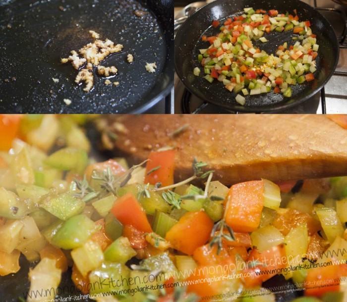 Add the paella rice recipe for the jambalaya
