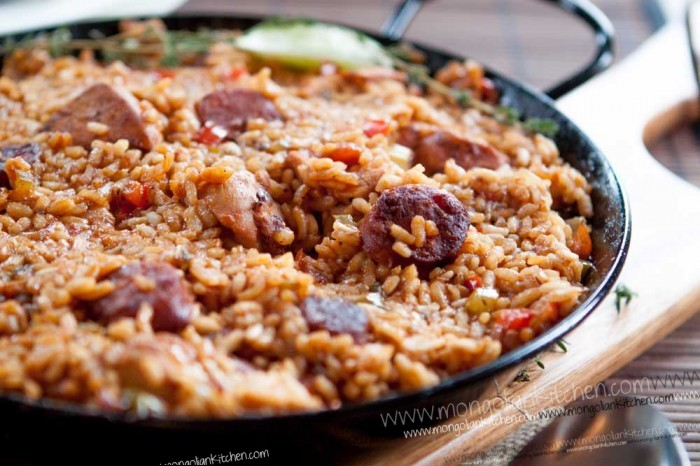 Chicken & Chorizo Jambalaya recipe