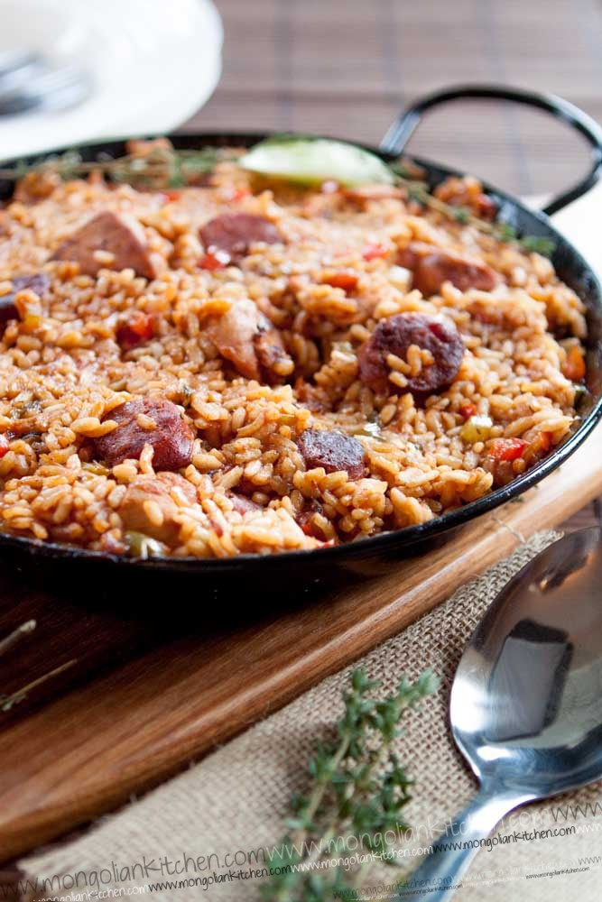 Jambalaya recipe chorizo chicken
